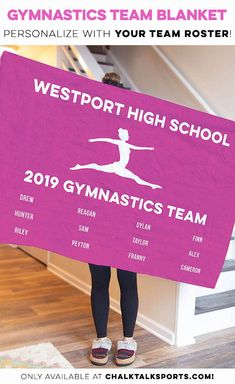Whether you are a gymnast, parent or fan you are sure to love this supersoft plush premium blanket, which makes for a great gift for any occasion. Gymnastics Coaching, Gymnastics Gifts, Alex Riley, Special Gifts, Great Gifts, Blankets, High School, Plush, Amazing Gifts