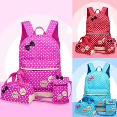 d43b1953f0 Cute Women Backpack Girl Kids School Shoulder Bag Rucksack Casual Travel  Bookbag School Bags For Kids