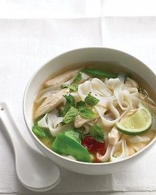 ASIAN NOODLE SOUP WITH CHICKEN AND SNOW PEAS *Large pot.   http://www.marthastewart.com/314010/asian-noodle-soup-with-chicken-and-snow?czone=food/dinner-tonight-center/dinner-tonight-main-courses=276948=297026=281840