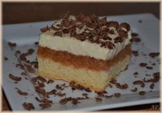 Jablkový koláč s pudinkem Tiramisu, Ethnic Recipes, Apple Cakes, Food, Apple Tea Cake, Essen, Meals, Tiramisu Cake, Yemek