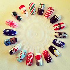 Opi Christmas nails