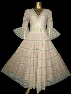 Cute vintage mexican wedding dress