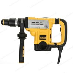 Dewalt D25601K-Gb 45Mm 6Kg Sds Max Combination Hammer 240V is a heavy-duty design great for fixing anchors and drilling holes into masonry and concrete. This powerful drill delivers high performance and features variable speed control, Active vibration technology and a high torque motor.   L047876