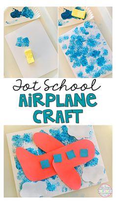 air transportation preschool crafts art projects