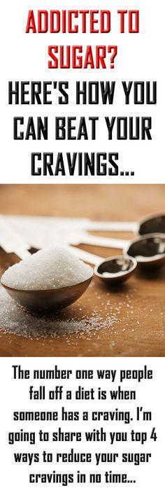 How to reduce sugar cravings. #sugar #sugaraddiction #healthyeating #health #sugarcravings