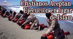 *** LOS CRISTIANOS ACEPTAN EJECUCIÓN EN LUGAR DE ISLAM ***  Aproximadamente dos meses después d que el Estado Islámico (IS) publicase un video que muestra a sus miembros sacrificando 21 cristianos coptos en Libia ,  >> https://www.facebook.com/isabel.aldana.142/posts/1436825979978909