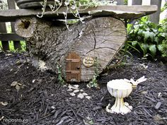 A Pixie Dusted Stump :: Hometalk