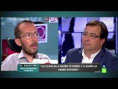 Pablo Echenique ridiculiza al candidato del PSOE de Extremadura - YouTube