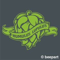 Hops craft beer fridge decal, kegerator vinyl sticker, craft beer, hop head…