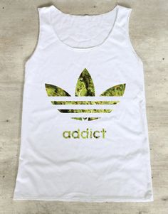 Weed Addict Shirt Marijuana Cannabis Shirts Top by WinterIszComing, $16.00