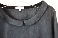 Linen Top by EDITHandBERTHA on Etsy, £85.00