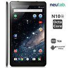 "neutab N10 Plus Tablet 10.1"" Android 5.1 Lollipop Octa Core 16GB 10 Inch WiFi US"
