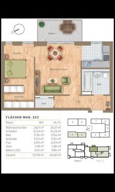 Small apartment Munich