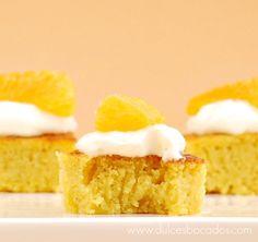 Dulces bocados: Bizcocho de naranja
