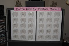 Have you ever heard that an elephant never forgets? It's true, elephants have amazing memories and since my sisters baby shower theme was el...