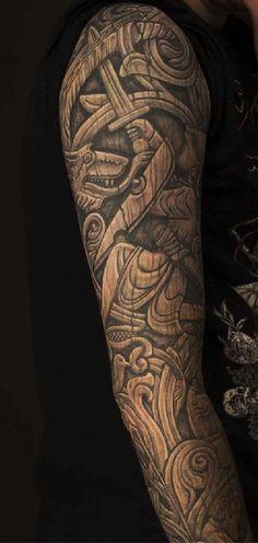 . Keltische Tätowierungen gehöhren zu den eher seltenen Motiven der internationalenTattoo-Szene. Trotzdem stecken sie voller tiefster geheimnisvoller Bedeutungen und üben auf viele Tattoofans eine nahezu magische Anziehungskraft aus. Hier haben wir ein pa (Cool Art)