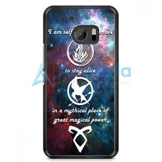 Divergent Tris Tattoo Ravens Quote HTC One M10 Case | armeyla.com