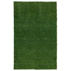 Ottomanson Garden Collection Indoor/Outdoor Artificial Grass Rug Turf
