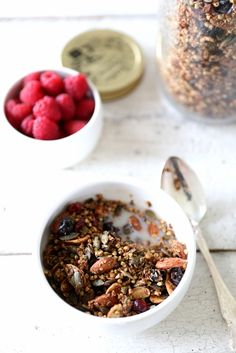 Rose Petal Granola | QUITOKEETO. Home grown/non sprayed dried rose ...