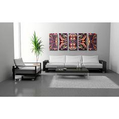 Metal Abstract Wall Art Decor - Synergy