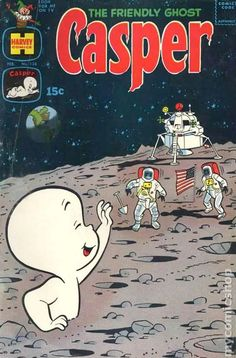 Casper the Friendly Ghost Series Harvey) comic books Classic Cartoon Characters, Favorite Cartoon Character, Comic Character, Classic Comics, Classic Cartoons, Cool Cartoons, Vintage Cartoon, Vintage Comics, Vintage Posters