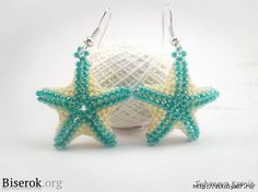 Starfish Sew the two halves by projecting bead.