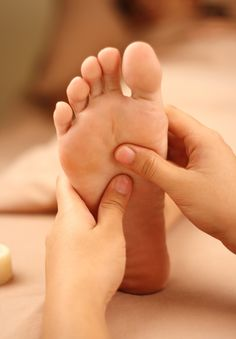 Massaggio piede
