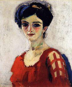 Maria / Kees van Dongen / 1907-10 / oil on canvas / at the Met