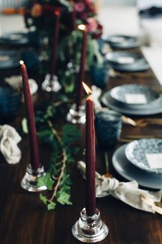 deep red wedding ideas - photo by Figtree Pictures http://ruffledblog.com/moody-industrial-wedding-inspiration