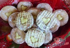 Citrónové lanýže s chutí vanilky Christmas Baking, Naan, Baking Recipes, Sushi, Sweets, Vegetables, Breakfast, Ethnic Recipes, Food