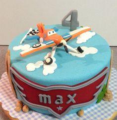 Dusty taart voor Max.