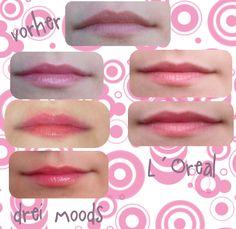 p2 Perfect lips! mood balm vs. L´Oreal Studio Secrets Professional universal lip glow