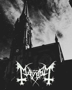 Black Metal, Heavy Metal Art, Black Art, Metal Band Logos, Doom Metal Bands, Mayhem Band, Metal Meme, Satanic Art, Sketch Tattoo Design