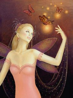 Dancing with Butterflies by B.K. Lusk