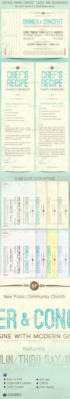 church dinner ticket template - dinner tickets template