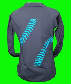 Charcoal Fleece Lined Performance Softball 1/4 Zip