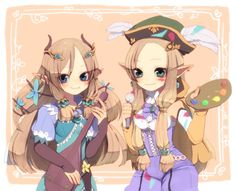 Daria from RF3 and who I believe is her sister Margaret from RF4
