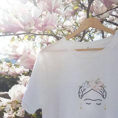 #itcouldberaining e la sua versione di Frida. Etsy shop soon!