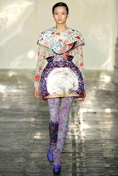 Mary Katrantzou Fall 2011 Ready-to-Wear Collection Slideshow on Style.com