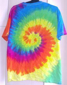 Batik Shirt Spirale Swirl