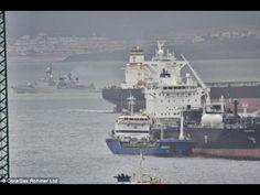 Spanish navy warship strays into Gibraltarian waters | World News