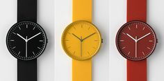 At least one of this watches by Uniform Wares