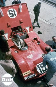 Nurburgring 1971 Jacky Ickx , Ferrari 312PB