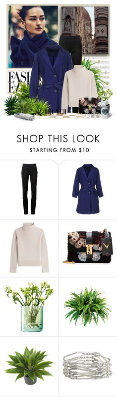 """Brunch Goals"" by ch-swisss ❤ liked on Polyvore featuring Monse, CIVIDINI, Vanessa Seward, Valentino, LSA International, Nearly Natural, Pieces and Nyla Star"