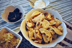 Baba's Traditional Ukrainian Perogies Recipe | The House & Homestead Ukrainian Perogies Recipe, Ukrainian Recipes, Korean Street Food, Korean Food, Peasant Food, Polish Recipes, Polish Food, Mug Cake Microwave, Good Food