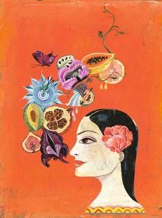 Evelyne Politanoff: Fairy Tale Fantasies; 'Black Antoinette' by Olaf Hajek