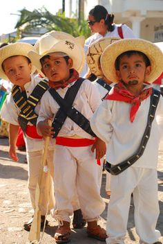 Children participate in the Dia de la Revolution, Lo De Marcos, Mexico Photo Gallery | Away.com