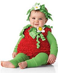 Sweet Strawberry Costume for Baby