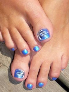 45 Cute Toe Nail designs and Ideas - Latest Fashion Trends