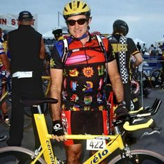 """#RobinWilliams #actor #comedian #cyclist #Bike"""